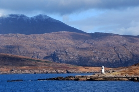 guiding the Ferry home to Ullapool