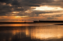 gone fishing, Burghead, Moray