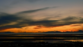 the calmness around post sunset - The Moray Coast