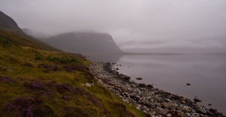 Typical Scottish Weather conditions create a moody calm