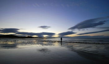peace and tranquillity on the Moray Coast