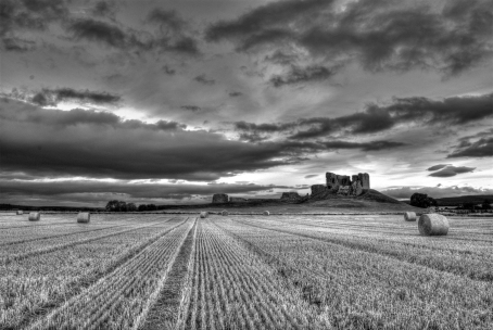 Duffus Castle, near Elgin, Moray, Scotland, was a motte-and-bailey castle and was in use from c.1140 to 1705.