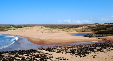a magical scottish beach