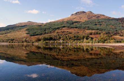 A perfect late autumn day in Argyll, Scotland
