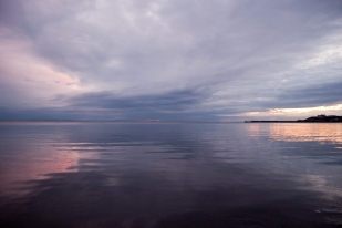 I have posted over 500 images here on WordPress most are dynamic wild Scotland with some fantastic light. This image however is probably at the other end of the spectrum - an underwhelming subtle hue of pink and blue on an abnormally calm summer's evening. Take time to look at the subtle hue and reflections within this almost Turner like effect.