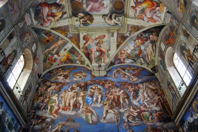 Sistine Chapel Interior Rome Scott K Marshall Photography Skm1963