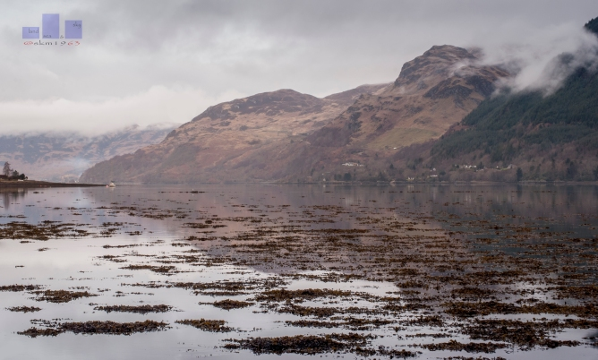 Low Cloud Loch Duich