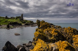 This a haunt from my childhood - I was doing seeing my parents an we had a wee run down the Ayreshire coast. Dunure and Turnberry were my too stops. A right blast from the past. Anyway I climbed out at great risk on to these rocks to get this rather dramatic angle and the sun graced me with it's presence - enjoy