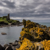 Dramatic Dunure Castle