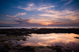 I thought I would just quickly share this before abandoning the PC and telephone conversations with HMRC to spend 4-5 hours in the Lossiemouth sun. This was taken last night with a .6 ND Grad filter . According to all the magazine articles it is a landscape photographers bread and butter requirement. It certainly kept the sky under check and reduced post processing time which must be good. Anyway as I said sunshine here I come.