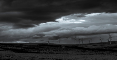This is a dark and foreboding Rothes Wind Farm near Glenlatterach. A fabulously dark sky coupled with a slow shutter speed to display the movement of you love it or hate it wind farm. Renewable must be Scotland's future. BT has agreed a £300m deal to buy enough energy to meet the needs of all its Scottish operations for the next 20 years from a wind farm in the Borders. I dont want to be held to ransom by foreign energy markets