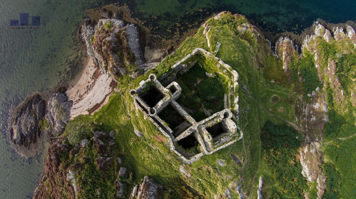 Above Castle Tioram WM
