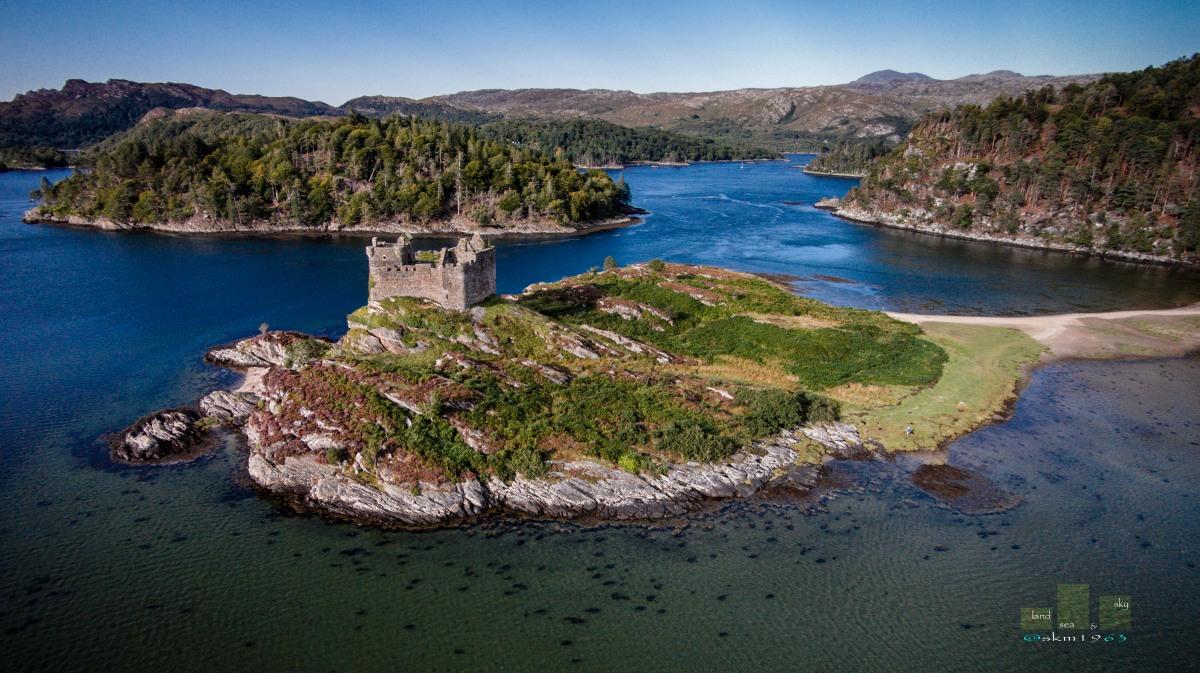 Castle Tioram - Adhar dhealbh