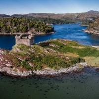 Castle Tioram - Selfie