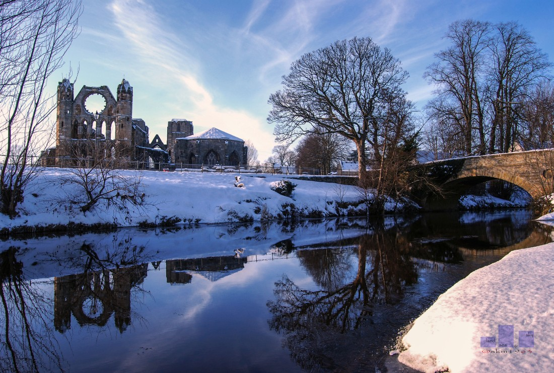 Elgin Cathedral Winter