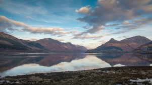 Loch Leven and the Pap of Glencoe