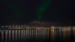 Tromso Artic Cathedral Lightshow