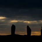 Ring of Brodgar Silhouette