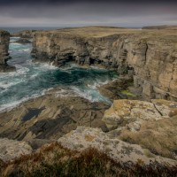 Yesnaby Castle - Sea Stack - Orkney