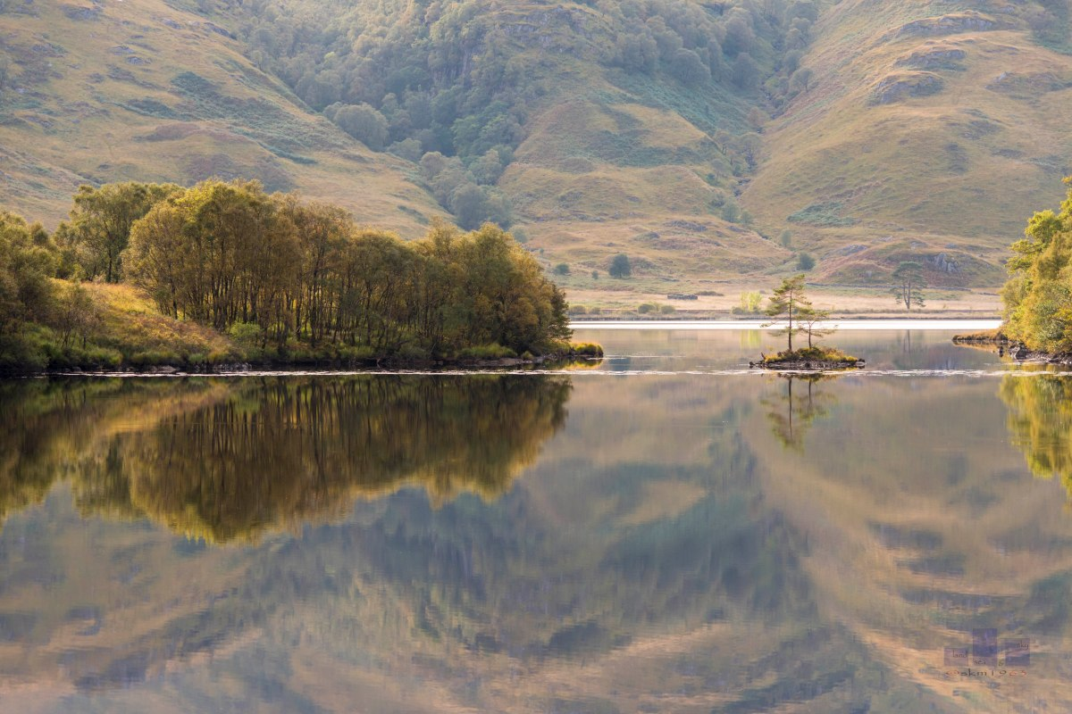 Reflection in Loch Eilt