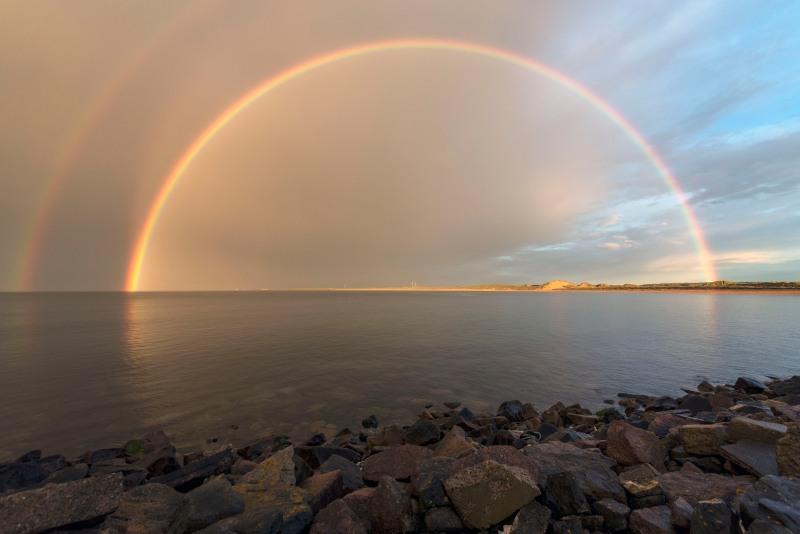 Fraserburgh Double Rainbow s