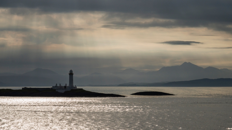Eilean Musdile - in to light