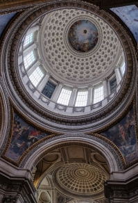 Pantheon Dome Detail