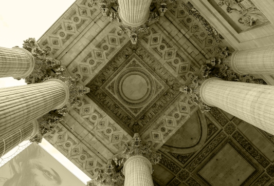Pantheon Entrance Roof