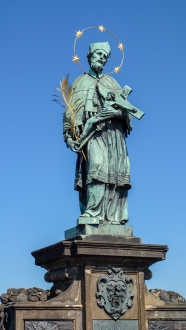 Charles Bridge Figure