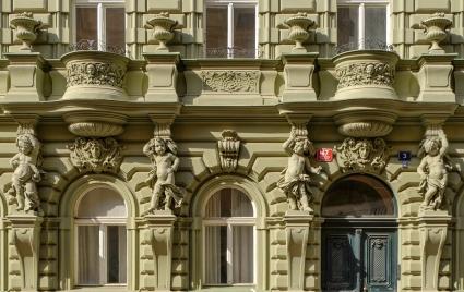 Prague Building Detail