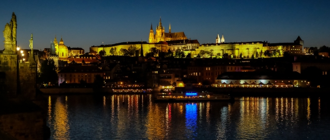 Prague Castle by Twilight