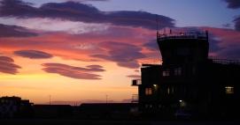 Sunset RAF Lossiemouth ATC