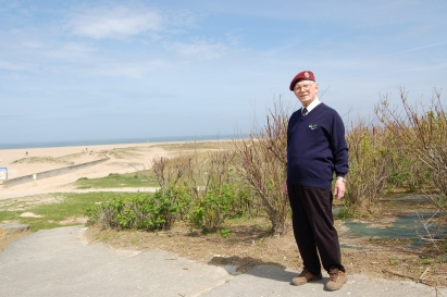 Denzel Cooper D-Day Glider Pilot in Normandy aged 85 he is now 96.