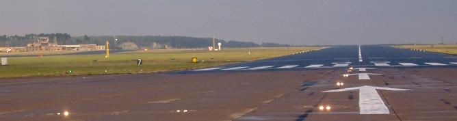 RAF Leuchars Runway