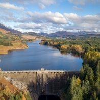 Loch Laggan Autumn Gold