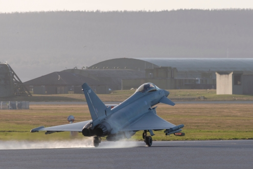 typhoon touch down