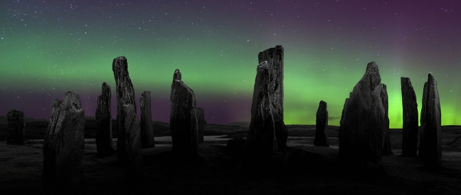Callanish Moonlit Aurora
