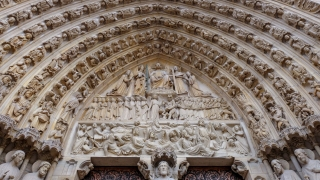 Notre Dame South Tower Arch Detail
