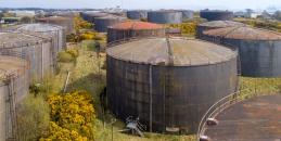 Aerial of Tank Farm