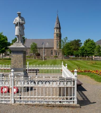 Rhynie War Memorial 2
