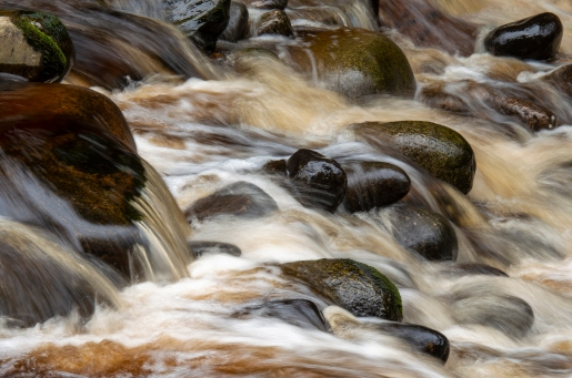 Long Exposure on the River Findhorn, Moray