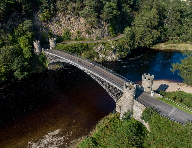 Creagellachie Bridge on Spey