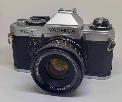 Yashica FX-D Quartz 1980